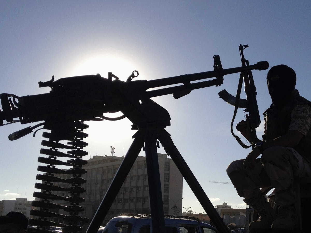 مظاهر مسلحة في ليبيا.
