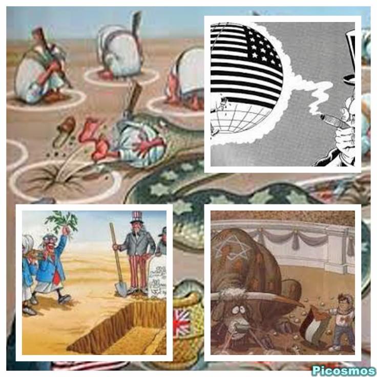 الفنان محمد الزواوي يقتنص الوضع العالمي.